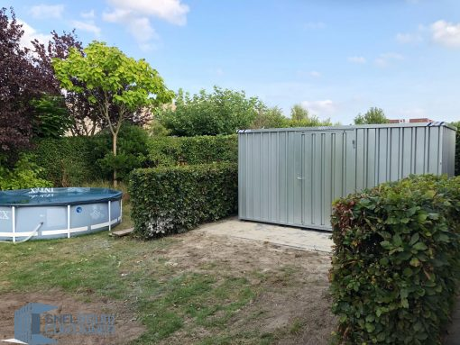 demontabele snelbouwcontainer 6x2