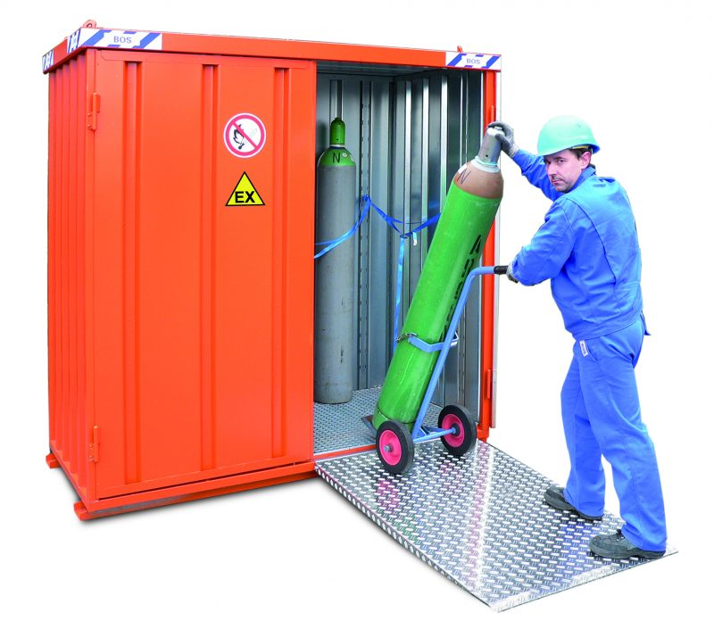 Gas cilinder container 1.5x1.5